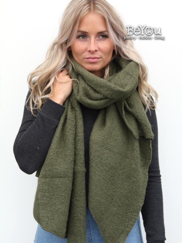 Sjaal Kate Groen