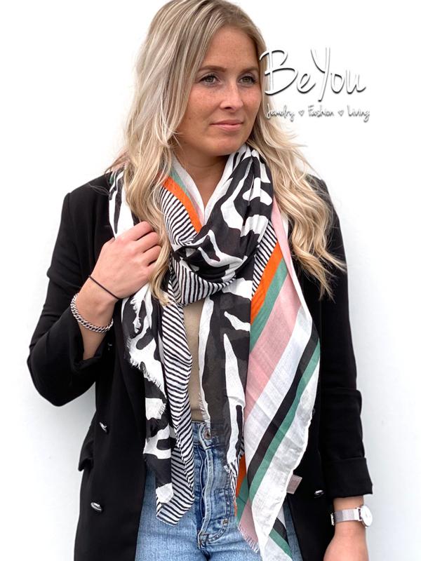 Sjaal Mik Zwart