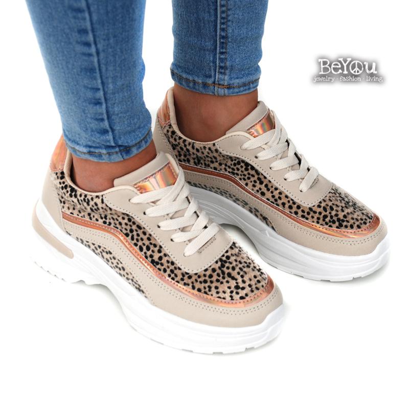 Chunky Sneaker Deb Ecru