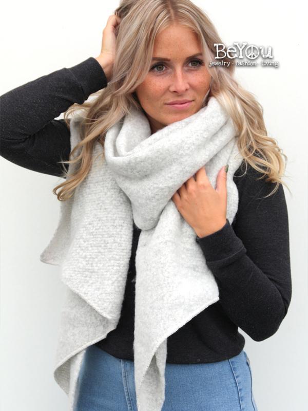 Sjaal Kate Grijs