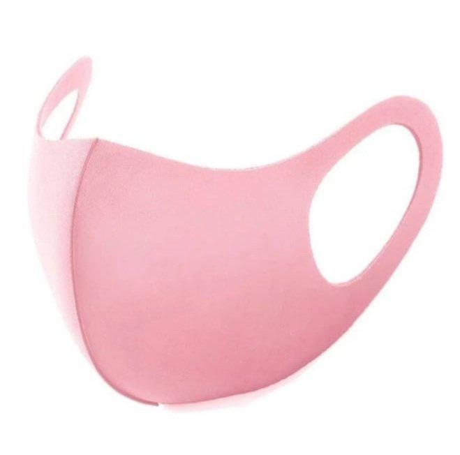 Wasbaar Sport Mondkapje Roze