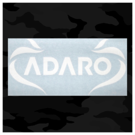 Adaro car sticker (Inside window)  (measurements 40cmx20cm)