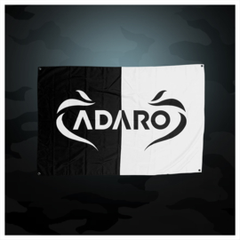 Adaro - Black / White Flag