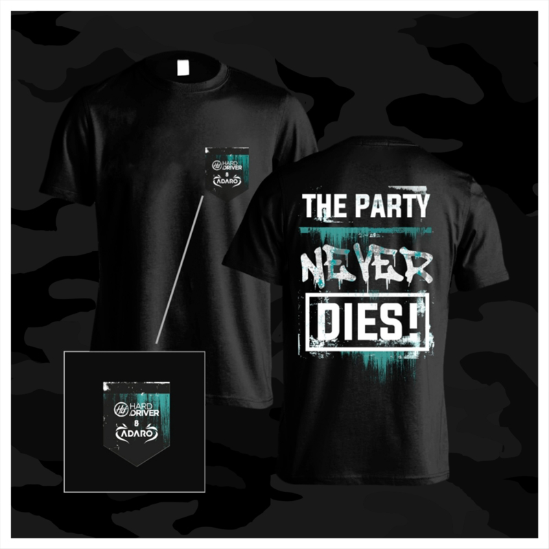The Party Never Dies T-Shirt