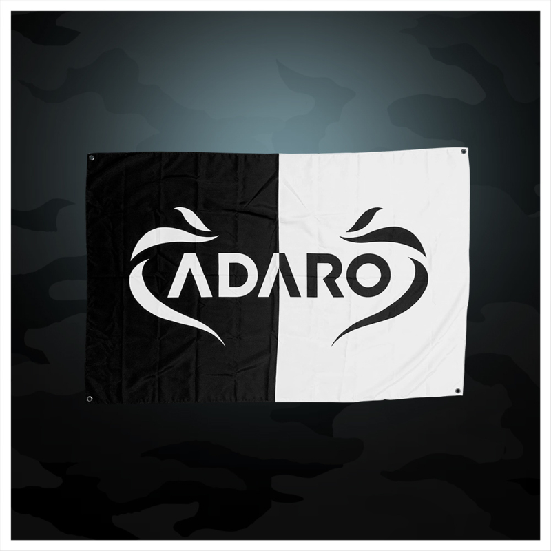 Adaro - Black / White Flag