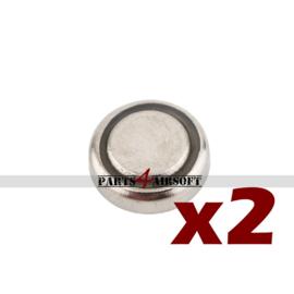 Knoopcel LR60 / LR621 / AG1 - 2 stuks (P4A901)