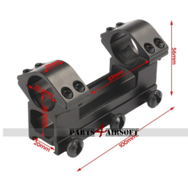 Double Scope Mount set - See Through (P4A826)