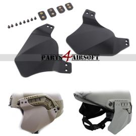 Hellmet Ear Protection / Oorbescherming - Zwart (P4A785)