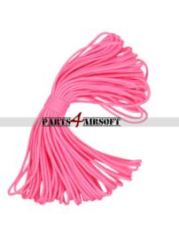 Paracord / Parachute touw 10meter - Roze (P4A969)