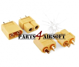 XT60 Connectors 4st (2x vrouwtje & 2x mannetje) (P4A522)