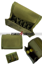 Shotgun Shell Molle Pouch - Olive Drab (P4A853)