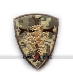 Devgru Lion Crusader Patch 9x7cm (P4A415)