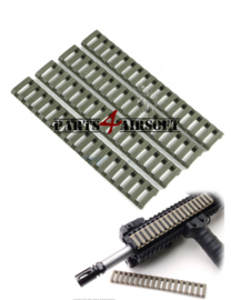 RIS Rail Ladder Protection - 4st - Olive Drab (P4A633)