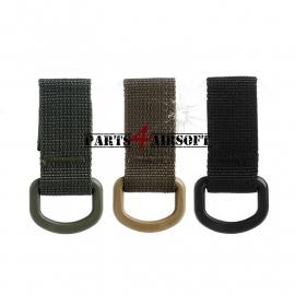 Nylon Webbing Ring - 2stuks - 3 kleuren (P4A414)