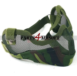 Mesh Half Facemask - Jungle BDU (P4A888)