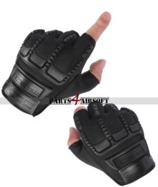 Tactical Gloves zonder vingers #2 - Zwart (P4A778)