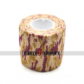 Camouflage band 4,5cmx5m - Striped Desert (P4A797)