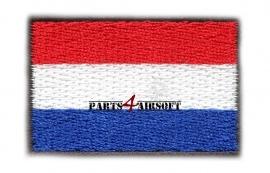 Insigne Patch Vlag - Nederland - 4,5x3cm (P4A365)