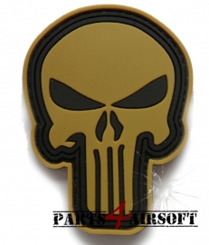 Punisher PVC Patch - 7,5x5,5cm (P4A424)