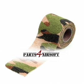 Camouflage band 4,5cmx5m - DPM (P4A220)