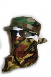 Face Wrap Camouflage - DPM (P4A427)