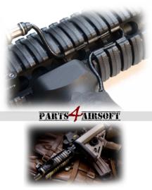 Index Clips voor 20mm RIS Rail - 60st - Zwart (P4A805)