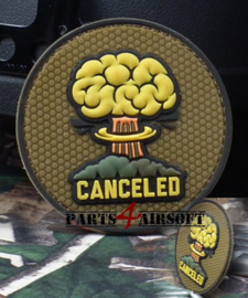 Canceled PVC Patch - 8x8cm (P4A773)
