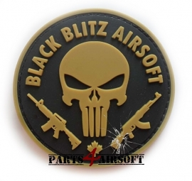 Punisher Airsoft PVC Patch - 7,5x7,5cm (P4A660)