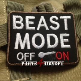 Beast Mode Patch - 8,5x7cm (P4A586)