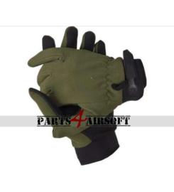 Handschoen met vingers - Olive Drab (P4A828)
