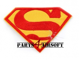 Superman Patch - 7,5cm of 10cm (P4A517)