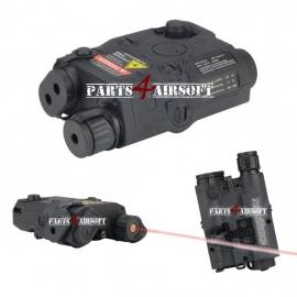 PEQ-box - AN-PEQ-15 Battery Case met Laser - Black [FMA] (P4A721)