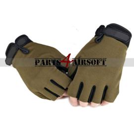 Handschoen zonder vingers - Olive Drab (P4A465)