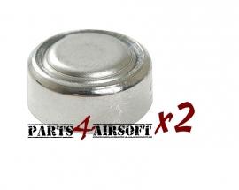 Knoopcel LR44 / AG13 - 2 stuks (P4A762)