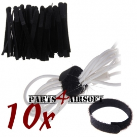 Klittenband kabelbinders - 10st (P4A423)
