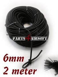 Bungee Rope Elastisch - 6mm - 2meter (P4A594)