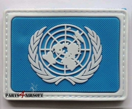 United Nations Patch PVC - 7,5x5,5cm (P4A393)
