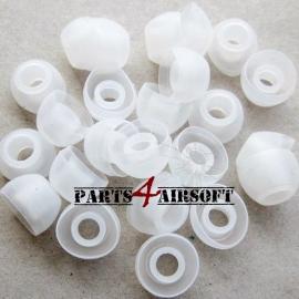 4st Vervangings rubbers oordop - Transparant (P4A234)