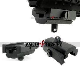 Harris Bipod en Sling Swivel adapter voor 20mm RIS Rail (P4A895)