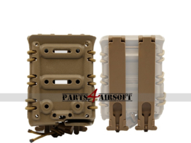 Plate Carrier Magazine Pouch -  7.62 - Tan (P4A1031)