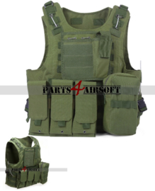 Tactical Vest - Olive Drab (P4A921)