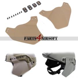 Hellmet Ear Protection / Oorbescherming - Khaki (Tan) (P4A815)