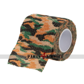 Camouflage band 4,5cmx5m - Jungle Striped (P4A469)