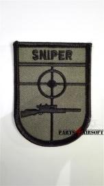 Insigne Patch Sniper - 8x6cm (P4A391)