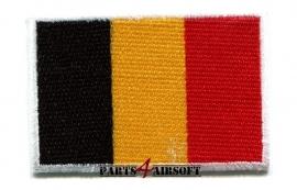 Insigne Patch Vlag - België - 4,5x3cm (P4A366)