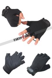 Handschoen zonder vingers - Zwart (P4A843)