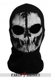 Bivakmuts Balaclava Katoen - Skull #3 (P4A765)