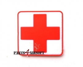 Medic Cross Patch PVC - 6x6cm (P4A396)