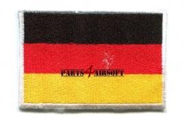 Insigne Patch Vlag - Duitsland - 4,5x3cm (P4A367)