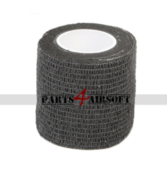 Camouflage band 4,5cmx5m - Black (P4A800)